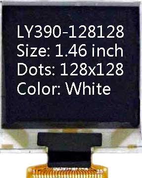 1.46 inch  128x128 White  OLED display LCD