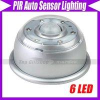 Wireless Motion Sensor PIR Detector LED Magnetic #241