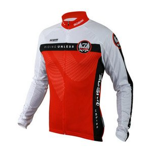 The new spring and summer 2011, long-sleeved jersey