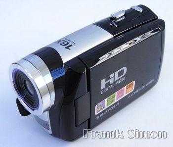 "Wholsale 5pcs/lot 3"" TFT Rotation HD Digital Video Camcorder DV Camera HD-A70 &Fast Shipping"