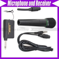 Handheld Wired Wireless MIC Microphone and Receiver NW 1353