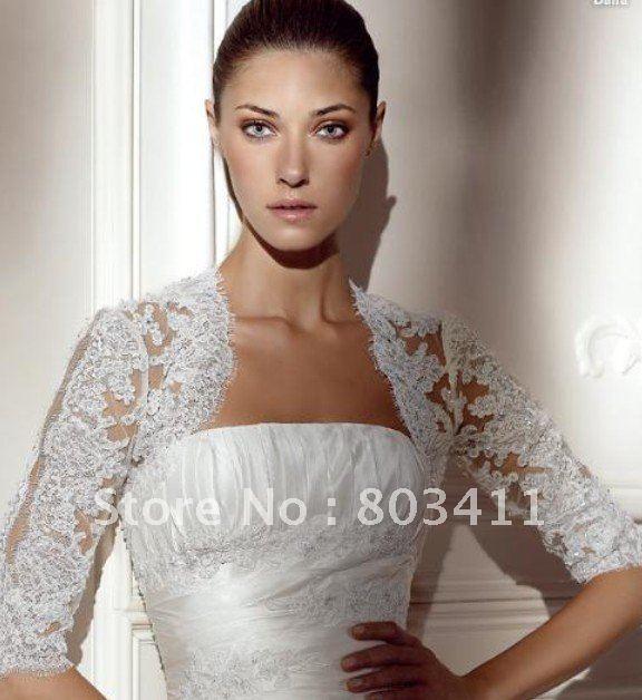 Bolero Jacket Pattern Lace Bridal Bolero Jacket