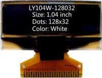 1.04 inch white 128x32 oled screen oled display