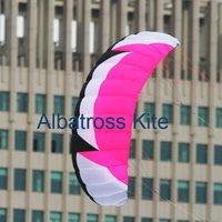 2.5M2 power kite 4 line kite  /4 Lines control power stunt Parafoil kite kites/Free Shipping