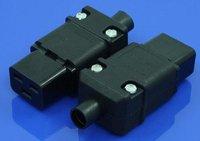16A 250V IEC 320 C19 Rewirable connector, C19 plug, C19