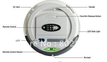 3 In 1 Multifunction Robot Vacuum Cleaner QQ