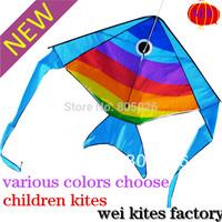 free shipping high quality new design Spanish mackerel fish batfish kites 20pcs/lot with handle line kites wholeale kite factory