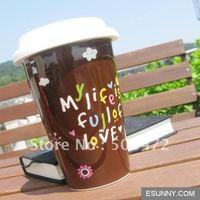 Ceramic Travel Mug with Silicon Lid