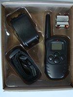 300m remote control bark stop 1pcs/lot FREE SHIPPING LCD 100LV SHOCK&VIBRA REMOTE DOG TRAINING COLLAR