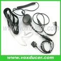 Military throat vibration mic with Mini-din plug for WOUXUN transceiver KG669 KG659 KG679 KG689