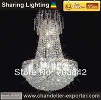 [Sharing Lighting]High quality empire crystal pedant lamp,chromed crystal chandelier