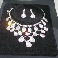 Fashion jewelry set .evening dress accessories wedding jewelry sets bridal Jewelry Sets