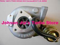 HP55/14411-7T600 Turbocharger for Nissan Navara Pickup Engine:QD32T,3.2L,101 KW