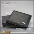 MITSUBISHI Wallet bifold New Arrival genuine leather wallet/money bag/purse(momen/men/unisex) 00083