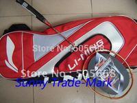Lining N90II Brand Badminton rackets,hot selling rackets 2 rackets 2 big bag