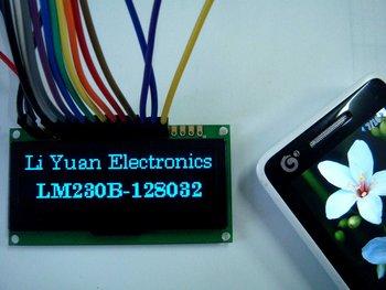 2.3 inch blue128x32 OLED display  OLED module
