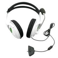 Big Live Headset Headphone Earphone with MIC Microphone For Microsoft Xbox 360 Headphone *100pcs/lot