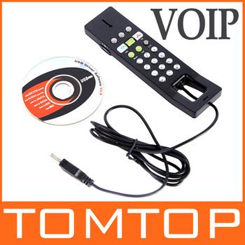 USB 2.0 Phone Telephone Internet Handset Skype VOIP Product  Wholesale Free Shipping