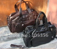 free shipping Special 2012New Korean men bags,handbags.shoulder messenger bag,men's leisure bags Large capacity,brown