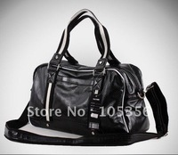free shipping Special 2012Korean punch men bag / bag / Messenger bag / leisure bag/travel bag,men's bag,sports bag,balck