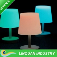 High-Solar product/Low carbon Solar potted table lamp/fluorescence light