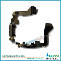 FREE SHIPPING for iphone 4g original black/white charging flex cable+best quality+wholesaler or retail