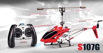 SYMA Original 107 S107 S107G Metal 3Ch 3 CH gyro Gyroscope Radio Remote Controlled RC Mini Helicopter gift toy FREE SHIPPING