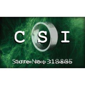 CSI - Coffee Shop Illusion--close-up magic