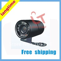 C520-Free shipping--High resolution! CCD effect !stick--on car rearview camera-waterproof with led