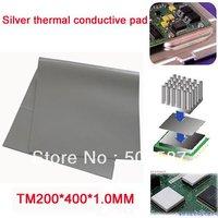 Whosales! 10 pcs/lot  1.0MM  thickness VGA CPU Chipset Thermal conductive Pad Grease heatsink
