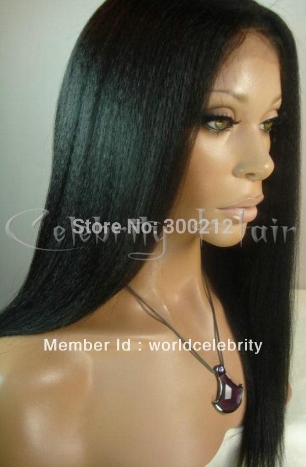 yaki straight style Fashion beautiful 100% virign indian human hair ...