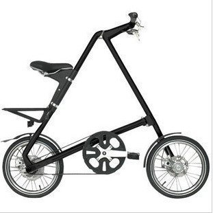 """Folding bike MINI bicycle 16"""" wheel aluminium alloy frame Free carry bag Choose from black,y,red,white,silver Free shipping"""