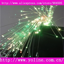 optic fiber ceiling light,16W RGB light source 280pcs 1mm fiber 3meters in length YO-LED16W-280*3M/1mm(China (Mainland))