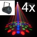 2PCS  RGB DJ LIGHT DISCO LIGHT LED MOONFLOWER LIGHT