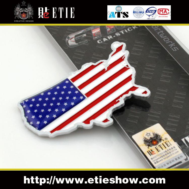 Car Logos With Flags American Flag Color 3d Car