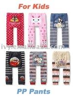 Free shipping wholesale /Baby PP pants/Toddler pants/infant pants/sweet kids leggings/new patterns/180pcs a lot