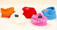 On Sale Lowest Price 5 Colors Children's Muffler Baby Warm Scarf Boy /Girl Knitted O Ring Scarf