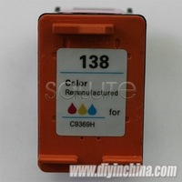 Hot Selling Compatible Cartridges for HP 138/C9369H Color Ink Cartridges for HP DJ 6848/5740/PCS 2355/1610 Printer