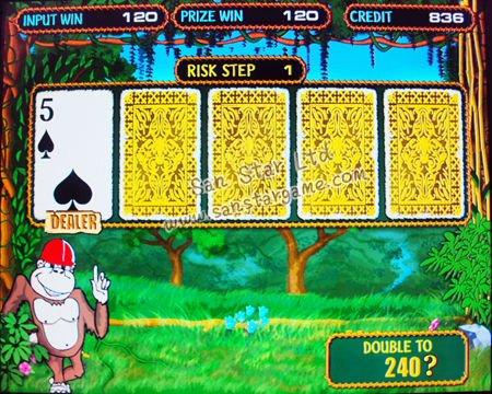 crazy monkey casino games