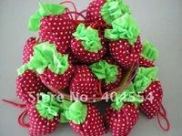 Strawberry Bag Reusable Cute Eco Reusable Shopping Shoulder Tote Bag 200pcs
