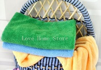 Best Choice 30PC/Lot 30cmx60cm Microfiber Cleaning Cloth Micro Fiber Car Cleaning Towel Absorbent Quick Dry