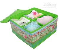 bags cases underwear storage box Organizer Holder Box BRA storage box saving case HOT opaque storage