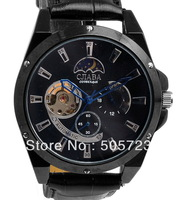 Hot Sell Fashion Unique Luxury Cjiaba Automatic Mechanical Men Wrist Slava Military Watch