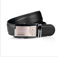SEPTWOLVES,Free shipping fashion man leather belt.best quality,Brand Automatic buckle.100%genuine cow leather.