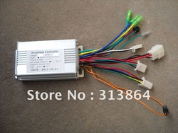 Free Shipping!!! High quality 36V 350W/250W BLDC motor controller E-bike brushless speed controller(China (Mainland))