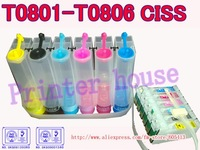 CISS for EPSON Stylus RX560/RX585/RX685; R265/R285/R360;P50 T0801 T0802 T0803 T0804 continuous ink supply system