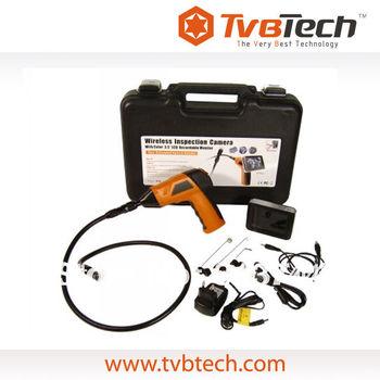 TVBTECH Wireless Fiber Optic Camera Endoscope High Resolution with DVR