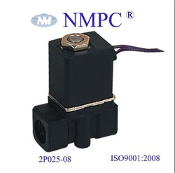 2P025-08 solenoid valve, plastic body, 1/4&quot; Bore size,12V to 220V AC/DC,(China (Mainland))
