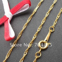 Free shipping wholesale and retail   GOLD plated  necklace  &chains NS10218  420x1mm 120pcs/lot