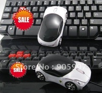 new Free shipping and hot sales Fashion quality Colorful lights car mouse, cute notebook mouse, USB Optical 1lot=5pcs